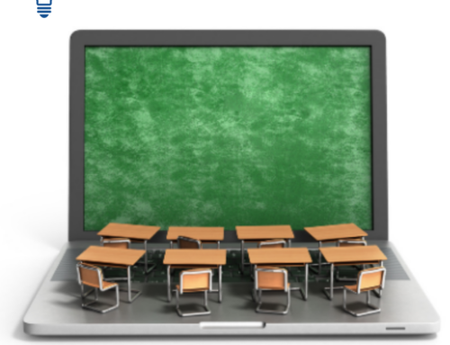What is the difference between online public schools and emergency virtual options at traditional public schools?